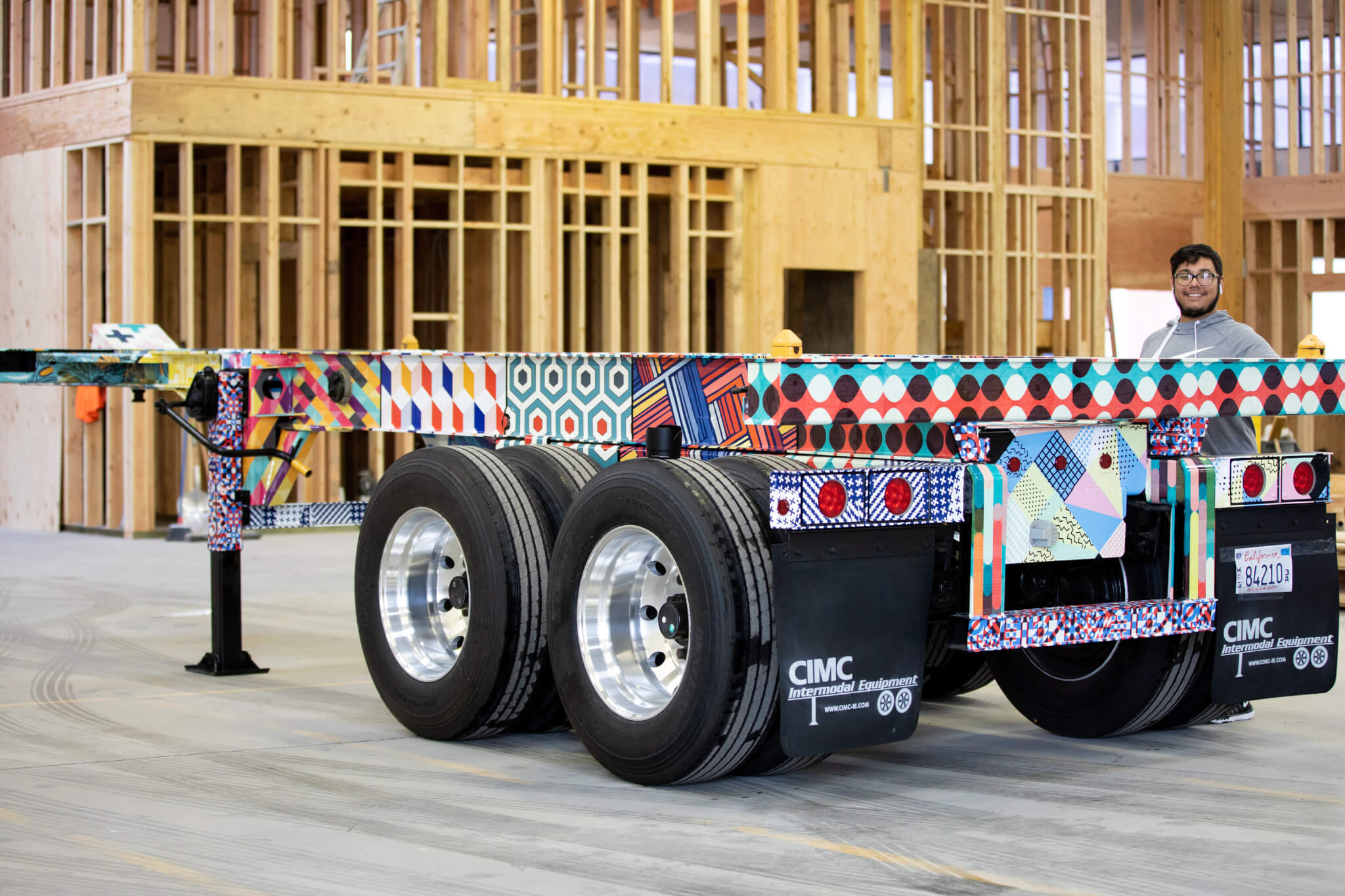 One of a Kind Container Chassis