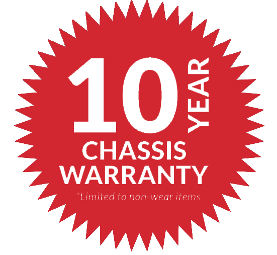 10 Year Chassis Warranty