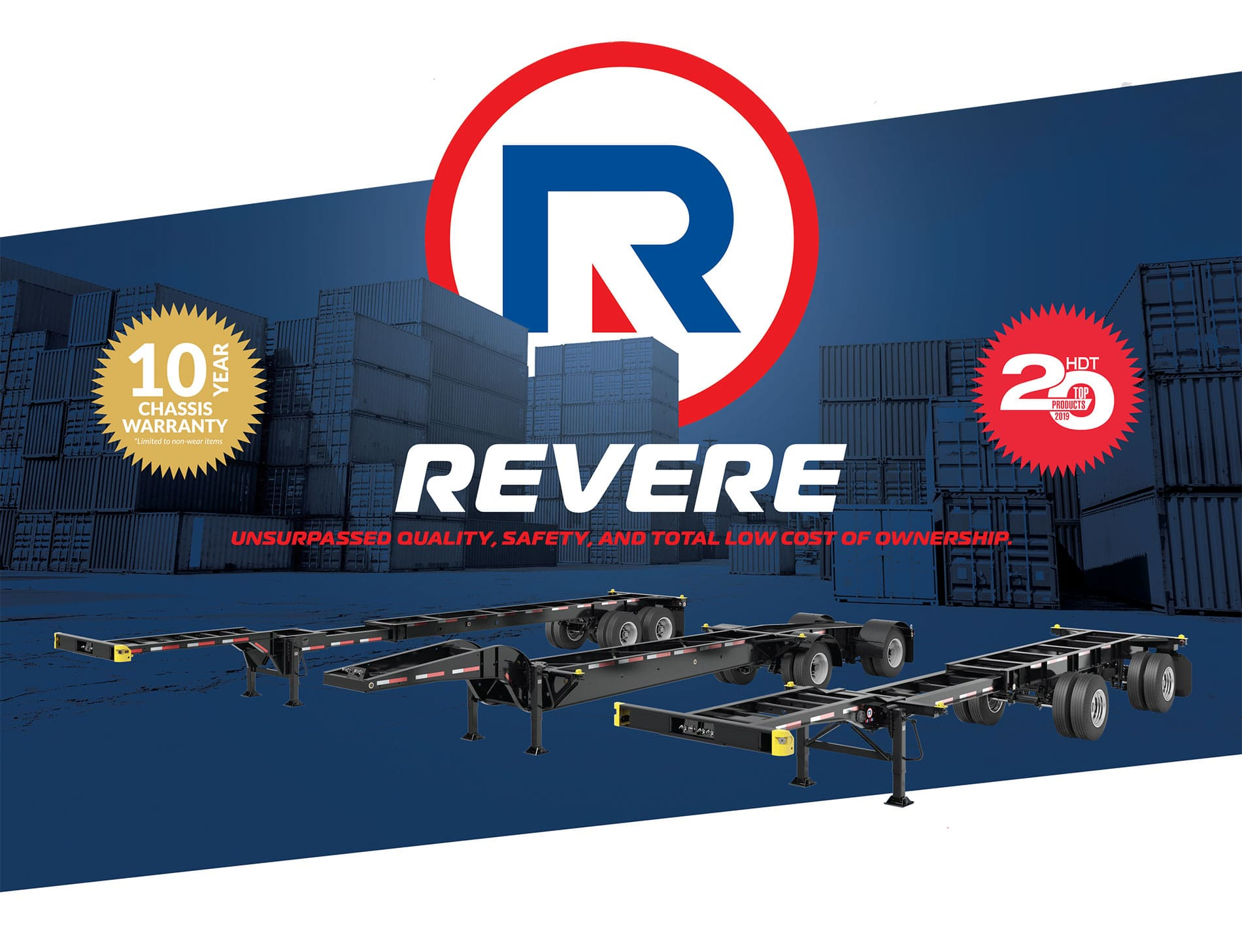 Revere Container Chassis
