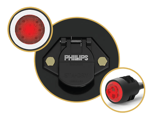 Electric Harness Lights Phillips