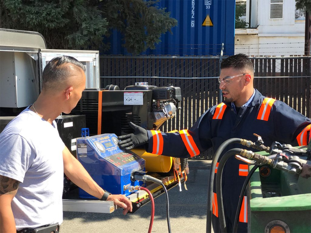 Container Chassis Preventive Maintenance