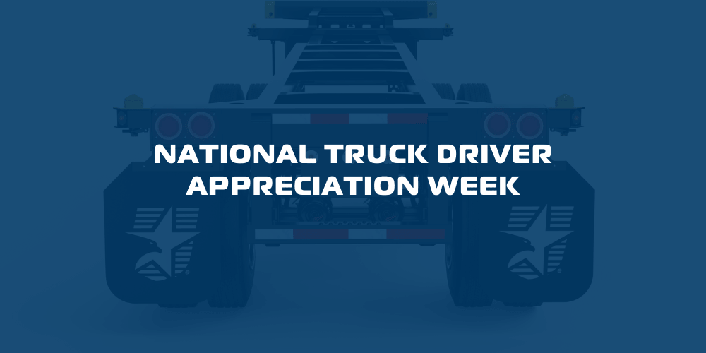 CIE Manufacturing Celebrates Chassis National Truck Driver Appreciation Week