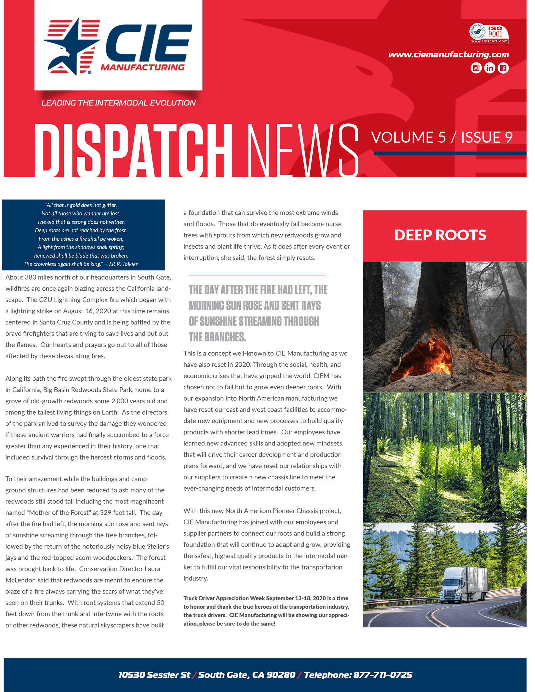 September 2020 Dispatch