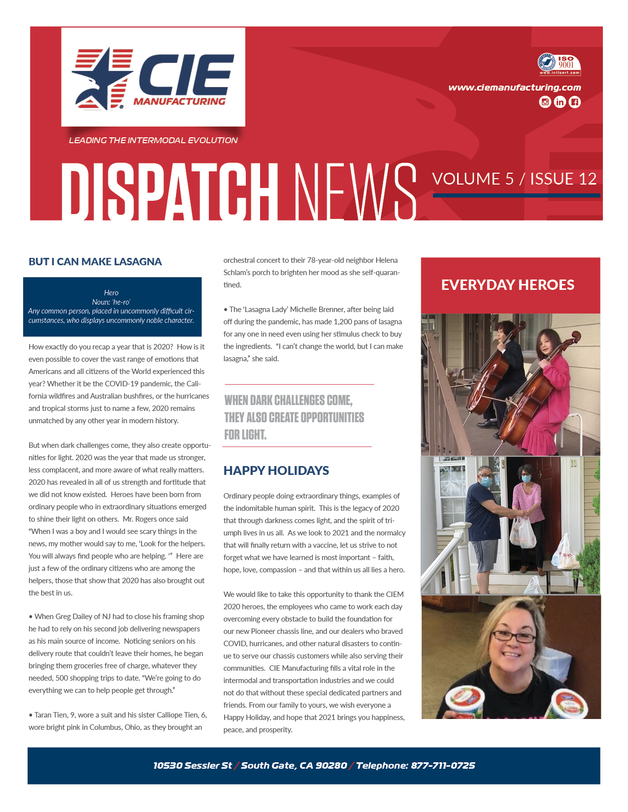 December Dispatch