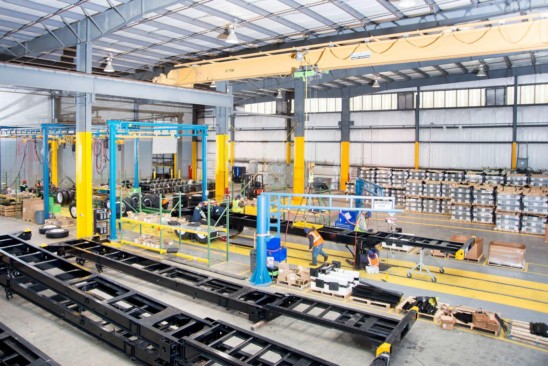 Pioneer Chassis Production
